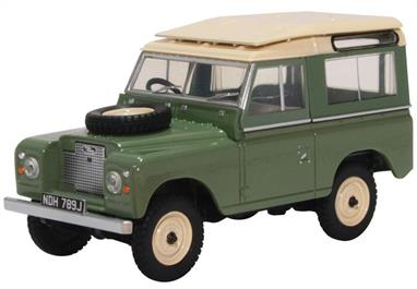 Land Rover Series IIA SWB Station Wagon Pastel Green