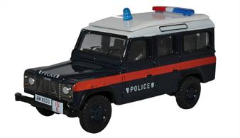 Land Rover Defender LWB Station Wagon Hong Kong Police