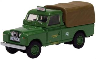 Land Rover Series II LWB Canvas Southdown