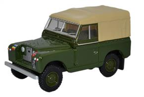 Land Rover Series II SWB Canvas REME