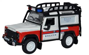 Land Rover Defender 90 Station Wagon Hong Kong Police