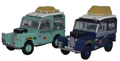 2 Piece First Overland Land Rover Set