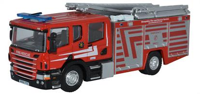 Scania CP31 Pump Ladder Shropshire Fire & Rescue