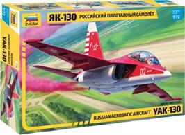 Zvezda 7316 1/72nd Scale Russian Aerobatic Aircraft YAK-130Number of Parts 91  Length 160mm