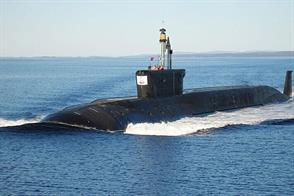 Borey Class Russian Nuclear Ballistic Submarine KitGlue and paints are required