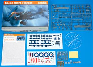 ProfiPack edition of 1/48 scale kit of British WWII fighter aircraft SE.5a