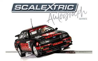 Scalextric are delighted to present our brand new Scalextric Autograph Series; a special edition collection of solo cars with insert cards signed by their real-life drivers!