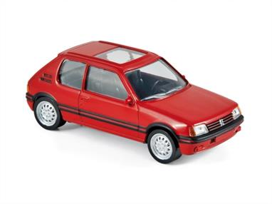 Norev 1/43 Peugeot 205 GTi 1986 Vallelunga Red NV471713