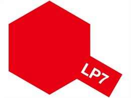 Tamiya LP-7 Pure Red Lacquer Paint 10ml