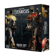 The Rules Set includes a 96-page hardback book containing all the rules needed to play games of Adeptus Titanicus, from basic movement and resolving attacks through to advanced and optional rules which add incredible depth and tactical complexity. Along with the comprehensive rules manual, a host of accessories are included – Command Terminals, Battlefield Assets and more: