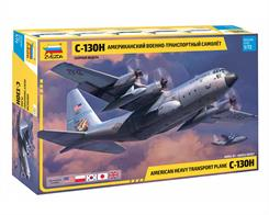 Zvezda 7321 1/72nd Hercules C130-H Transport AircraftNumber of Parts 314  Length 414mm