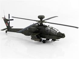 Hobbymaster HH1204 AH-64D Apache Longbow Helicopter  2067, 120th Sqn., RSAF, 2016