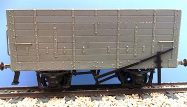 The North Eastern Railway equipped many stations with coal drop staithes allowing the efficient use of self-clearing hopper wagons for coal distribution and avoiding wagons being detained for unloading by shovel.This kit models one of the NER 20 ton wood bodied hopper wagons which ran throughout the LNER period and could still be found running on the railways after nationalisation, with more as internal user wagons with the NCB,NOTE Wheels required to complete.