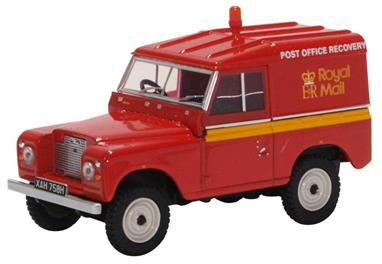 Land Rover Series IIA SWB Hard Top Royal Mail Post Brehinol