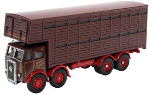 Oxford Diecast 1/76th Atkinson Cattle Truck L Davies & Sons 76ATKL005
