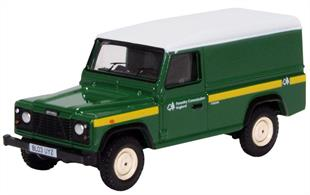 Rover Defender LWB Hard Back Forestry Commission