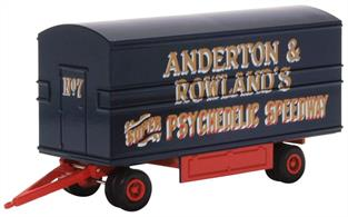 Oxford Diecast 76DTR002 1/76 Anderton & Rowlands Dodgems Trailer