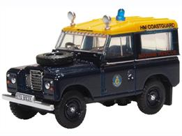 Oxford Diecast 76LR3S007 1/76th Land Rover Series III SWB Station Wagon HM Coastguard