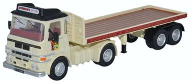 Oxford Diecast 1/76 ERF LV Flatbed Trailer Scottish & Newcastle 76LV005