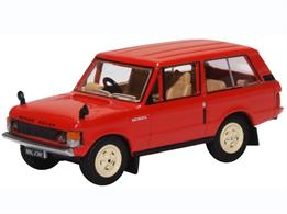 Oxford Diecast 76RCL003 1/76th Range Rover Classic Masai Red