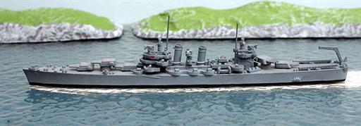 Hansa S132 USS Boise a Brooklyn class light cruiser 1939-51 1/1250