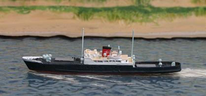 A 1/1250 scale metal model of the Sealink Channel Island livestock ferry Winchester by Solent Models SOM 01A