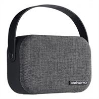 Volkano Fabric Series Bluetooth Speaker VK3020GRLThe ideal addition to any work space. This beautiful fabric covered speaker comes with a convenient carry handle and supports Aux In connections.