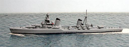 Secondhand Mini-ships Wiking WM492SU Kirov Russian cruiser from WW2 1/1250