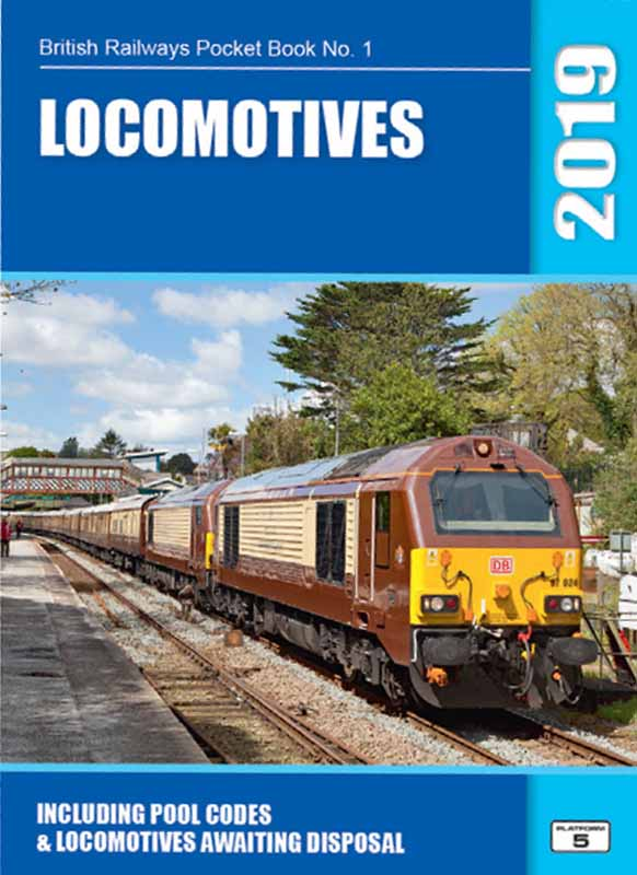Due for publication November 2018<br /><br />Platform 5 have produced the finest guide to the rolling stock of Britain's railways for many years. This pocket book provides a complete and detailed guide to diesel and electric locomotives registered for operation with Network Rail in autumn 2018.