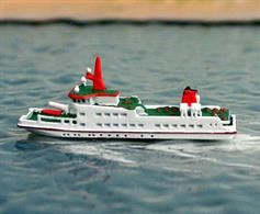 A 1/1250 scale model of Langeoog III by Rhenania Junior Miniaturen RJ322.