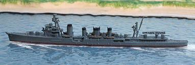A 1/1250 scale secondhand model of IJNS Naka by Navis Neptun 1244A. This model is in reasonable condition with a few blemishes, see photograph
