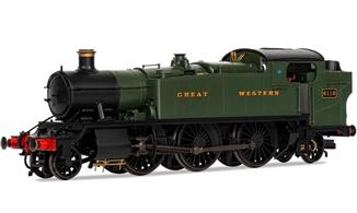 A completely new model of the GWR 5101 class 2-6-2T large prairie designed to produce both the standard 5101 class used throughout the GWR network on outer suburban, mainline stopping passenger and many branch line services and the more powerful 61xx class built for the heavier London area services, but later to be found in the West.Era 3 1923-1947.