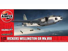 Airfix A08020 1/72nd Vickers Wellington Mk.VIII Bomber Aircraft KitNumber of Parts 177   Length 273mm   Wingspan 364mm