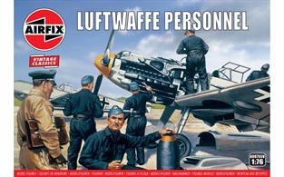 Airfix 1/72 Luftwaffe Personnel Plastic Figures A00755VNumber of Figures 46DUE MAR-19