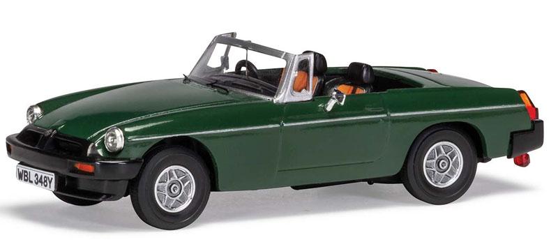 Corgi 1/43 MGB V8 Don Hayter's Car in Brooklands Green Model