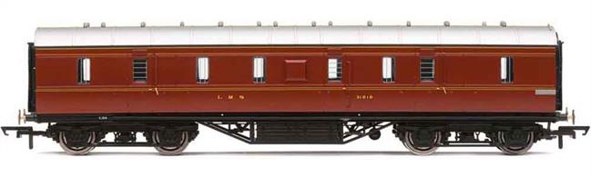 LMS gangwayed full brake passenger luggage van