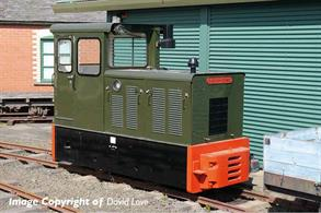New model of the small narrow gauge diesel shunting engines built for the Ministry of Defence and used as several depots.Price and delivery to be advised.