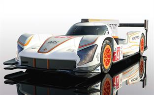 Scalextric C4061 Ginetta G60-LT-P1 No.14 White and Orange Slot Car