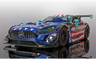 Scalextric C4023 Mercedes AMG GT3 Riley Motorsports Team Slot Car