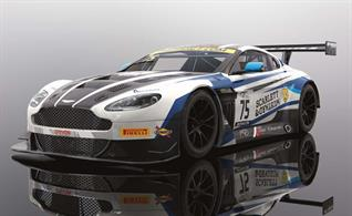 Scalextric C4027 Aston Martin GT3 British GT 2018 Flick Haigh & Johnny Adam Slot Car