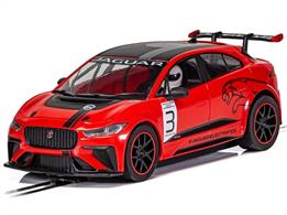 Scalextric C4042 Jaguar I-Pace Red Slot Car