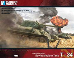 With this model kit, you can assemble the T-34/76 into either a Model 1940, 1941, or 1942 version of the tank.  It comes with 2 gun, 2 turret, 2 hull and 2 road wheel choices.Number of Parts: 55 pieces / 3 sprues