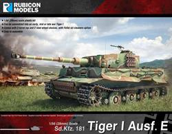 With this model kit, you can build all three (early, mid, and late war) versions of the Tiger I tank.  It comes with three turret tops, optional Feifel air cleaners, and two different sets of road wheels.Number of Parts: 68 pieces / 4 sprues