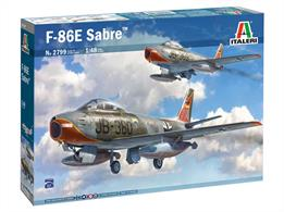 Italeri 2799 1/48th F-86E Sabre Fighter Aircraft Kit