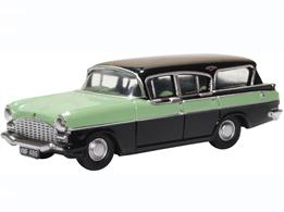 Oxford Diecast 76CFE008 1/76th Vauxhall Friary Estate Versailles Green/Black