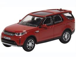 Oxford Diecast 76DIS5003 1/76th Land Rover Discovery 5 Firenze Red