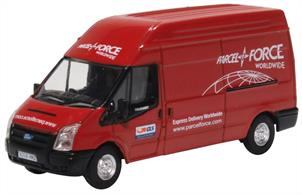 Oxford Diecast 76FT034 1/76th Ford Transit MK5 Parcelforce