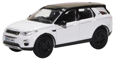 Oxford Diecast 76LRDS003 1/76th Land Rover Discovery Sport Fuji White