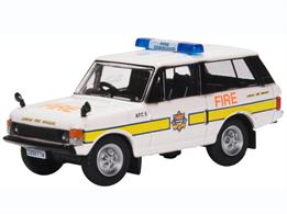 Oxford Diecast 76RCL004 1/76th Range Rover Classic London Fire Brigade