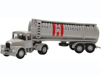 Oxford Diecast 76SHT003 1/76th Scammell Highwayman Tanker Tunnel Cement